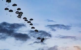 日美聯合空降訓練 陸上自衛隊首度直飛關島