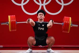 東奧》舉重男子96公斤級 陳柏任第5名作收