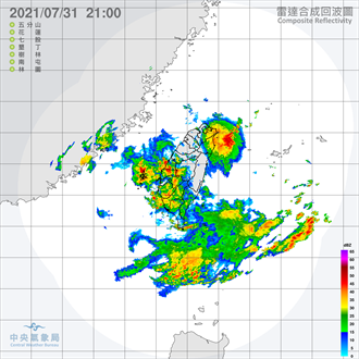西南氣流攪局豪雨下不停 氣象局:今晚至明天上半天雨勢最大