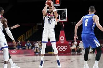 東奧》塔圖爆發轟垮捷克 美國男籃坐穩預賽第4