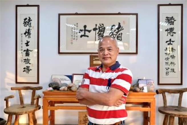 企業巡禮-豬博士動物科技創辦人王耀宏。(圖/豬博士動物科技提供)