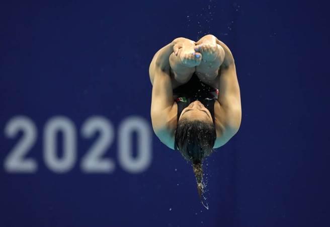 墨西哥跳水女將Arantxa Chávez無緣決賽。(美聯社資料照)