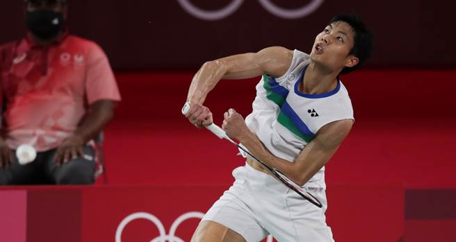 周天成帶傷硬拚東京奧運,連續兩屆奧運獲得8強名次。(季志翔攝)
