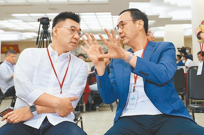 朱立倫宣布參選黨魁  江啟臣:正面看待黨內良性競爭