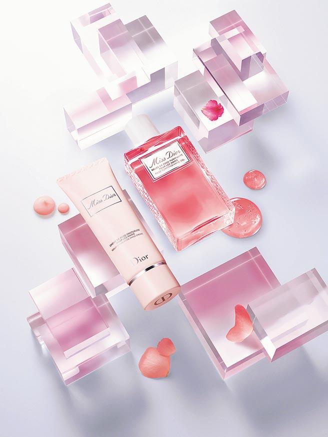 SOGO忠孝館Dior MISS玫瑰洗手凝露,每瓶100ml、1400元,限量30組。(SOGO提供)