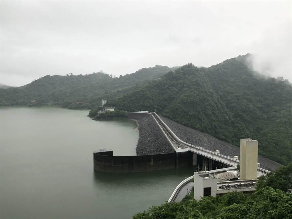 西南氣流助攻,曾文水庫有機會調節放水。(南水局提供/劉秀芬台南傳真)