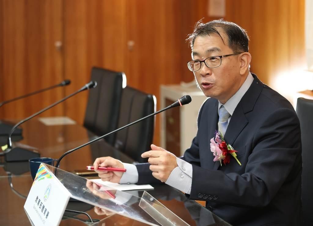 體育署長張少熙。(資料照片)
