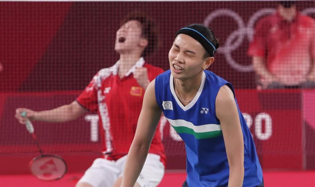 小戴在1日東京奧運決勝局惜敗,無緣羽球金牌。(圖/季志翔/攝)