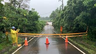 西南氣流強降雨 台南封閉28處路段19座橋