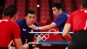 東奧》中華隊3比0拍落克羅埃西亞 晉級桌球男團8強