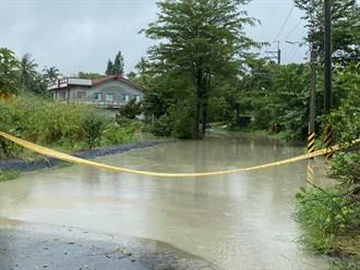 豪雨狂炸 台南13區淹水 左鎮、新化預防撤離7人