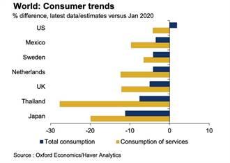 牛津:消費復甦之路 總是崎嶇不平