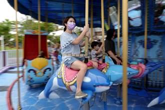 圖輯》睽違兩個多月再現歡笑聲 北市兒童新樂園有條件開放