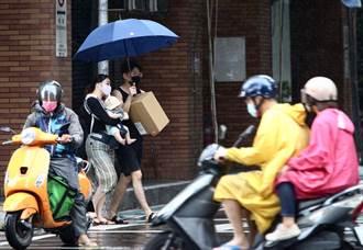 南台灣仍「紫爆」 9縣市豪大雨一路下到明天