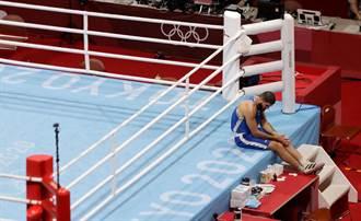 東奧》疑似用「頭槌」攻擊 法拳手失格坐擂台抗議1小時
