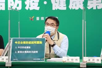 傳台南沒疫苗將停打 黃偉哲斥假消息:預約成功一定打得到
