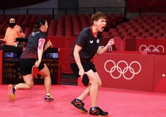 東奧》連取3點!中華力退美國闖進桌球女團8強