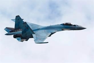俄國1架Su-35故障 飛行員彈射 戰機續飛幾分鐘才墜海