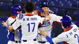 東奧》隊長金賢洙敲再見安打 韓國4比3氣走多明尼加