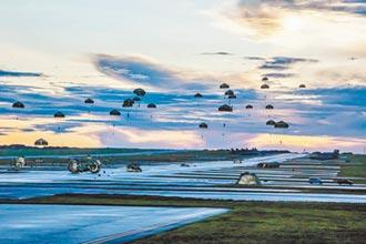日陸上自衛隊首飛關島 聯美空降訓練