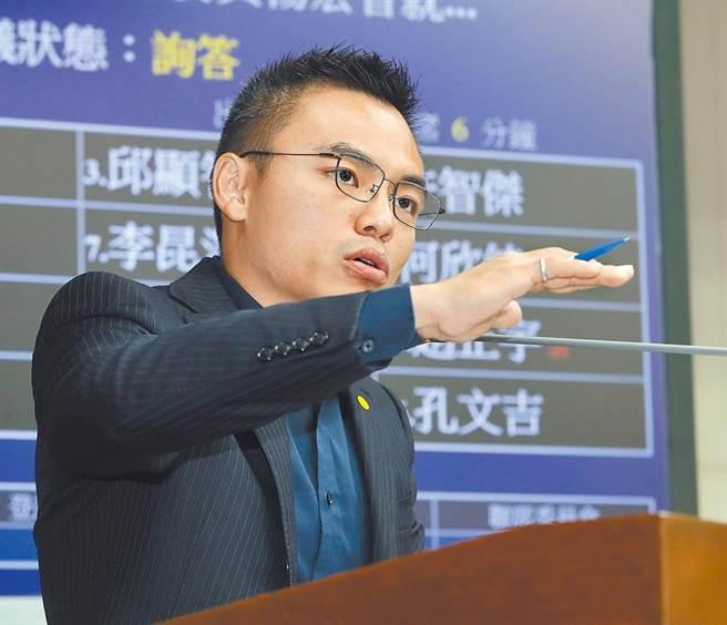 國民黨立委洪孟楷呼籲政府應發現金、不印券,節省成本,以及增加2024巴黎奧運預算。(本報資料照片)