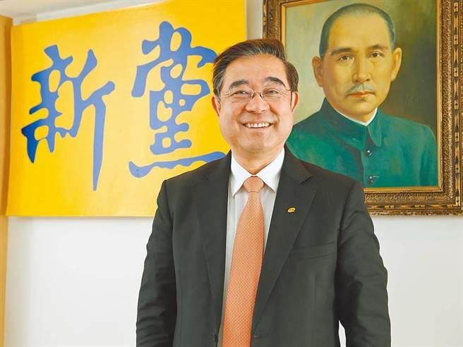新黨主席吳成典。(本報資料照)