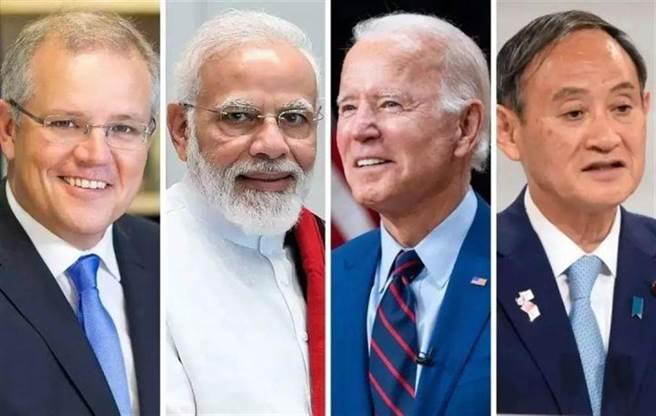 拜登力邀9月實體四方峰會,專家認為印太戰略、聯合軍演與台灣、南海議題將是重要內容。(圖/合成圖)
