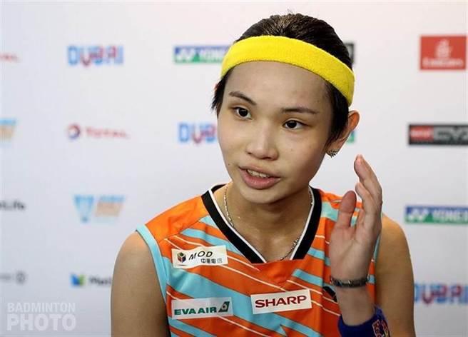 羽球球后戴資穎1日對戰大陸選手陳語菲,搶東京奧運金牌。郭正亮:她贏面大一點。(圖/Badminton phot提供)