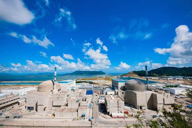 廣東台山核電廠1號機組運行過程中出現少量燃料破損,經中國和法國雙方技術人員溝通,決定停機檢修。(圖/中新社)