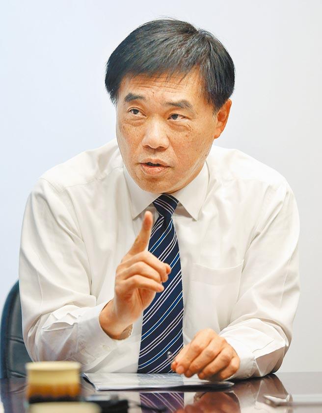 國民黨前副主席郝龍斌昨批評,政府不該讓民眾施打未經三期試驗的高端疫苗。(本報資料照片)