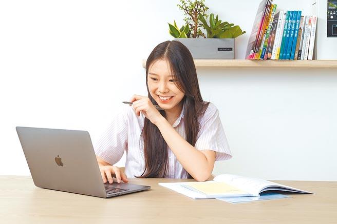 兩岸網路教學比一比,在陸台師感慨,台灣網速很卡,上音樂課如惡夢。圖為線上教學示意圖。(Snapask提供/李侑珊台北傳真)