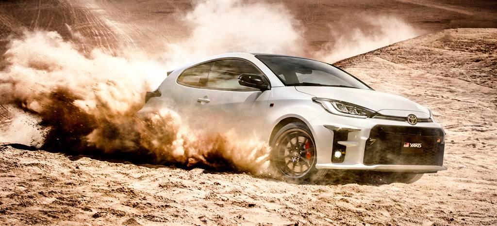 由TOYOTA旗下性能品牌GAZOO RACING所開發的GR YARIS,擁有源自WRC的賽道基因。