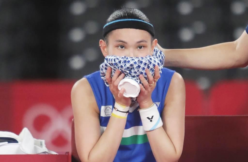 戴資穎昨出賽東奧羽球金牌賽,引來全民關注。(圖/季志翔攝)