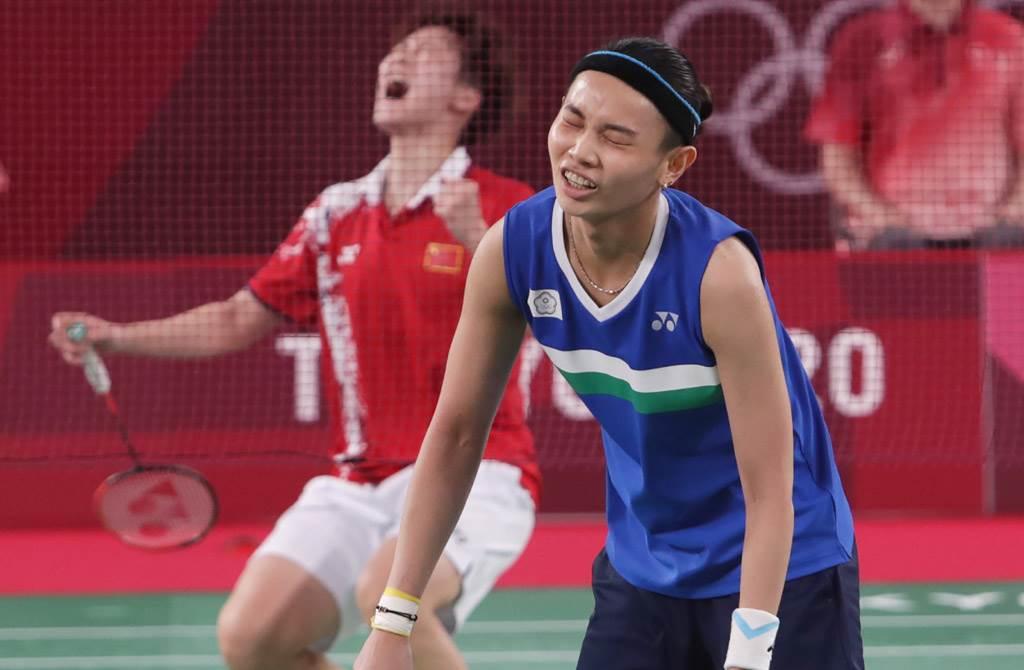 戴資穎追夢終於打進奧運決賽,但差一步跟金牌錯身而過,留下一點遺憾。(季志翔攝)