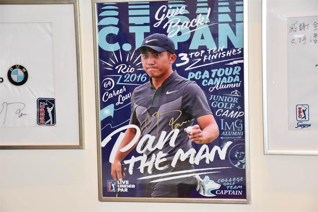 全國高爾夫球場會館小潘專區主照。(謝明俊攝)