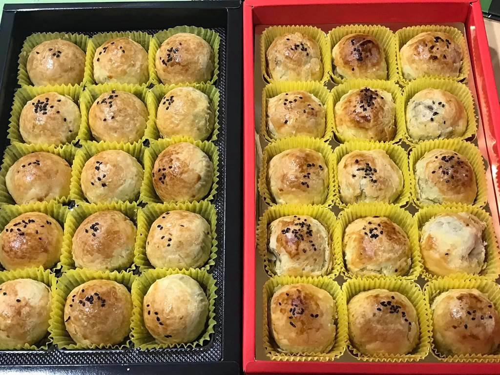 彰化市蛋黃酥名店不二坊宣布調漲售價,引發網友在社群上熱烈討論,不少網友也把其他糕餅店的蛋黃酥拿出來相提並論。(摘自臉書/謝瓊雲彰化傳真)