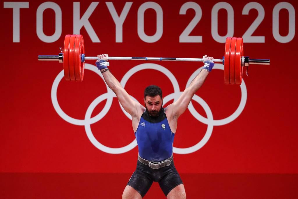 希臘舉重選手拉寇維迪斯在結束7月31日96公斤級賽事後表示,由於生計困難決定結束運動員生涯。(路透/資料照)