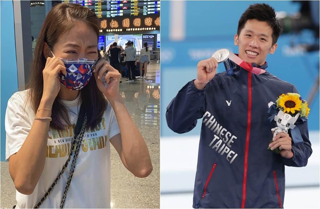 賈永婕笑稱自己要蹭體操李智凱的熱度,出買老公王兆杰曾是金牌體操選手。(取材自賈永婕的跑跳人生、中時資料照片)