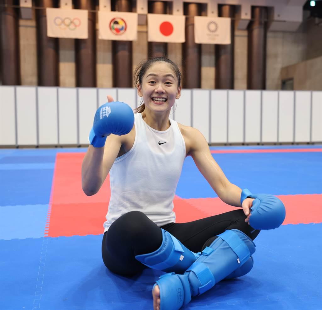 文姿云期待東京奧運上場一搏。(體育署提供)
