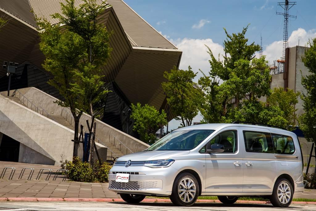 全面進化革新的Caddy Maxi不僅是一輛稱職的MPV,還可能搶食SUV市場。(陳彥文攝)