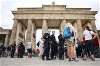 德國民眾不滿防疫禁令上街頭  柏林爆發警民衝突