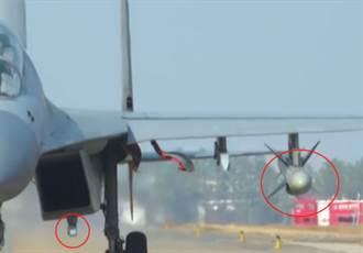 影》殲-16掛紅外吊艙+鷹擊-83 罕見秀反艦姿態