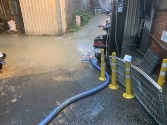 瞬間強降雨 台中接獲通報49件災情 水淹20戶民宅