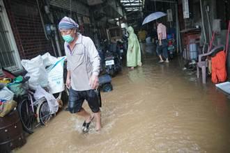 大雨不斷 烏日三和里水淹30多戶 盧秀燕:盡快改善