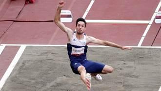 東奧》男子跳遠爆冷 希臘選手最後一跳逆轉摘金