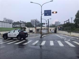 台南市下午強降雨 小東路地下道2天3度封閉
