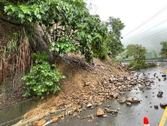 大雨不停 台中山區零星落石、海線道路積水