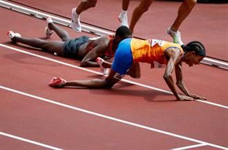 東奧》超神逆轉!哈桑1500公尺預賽摔倒仍拿第1晉級