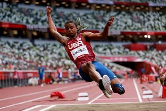東奧》報名跳遠和跳高 美國百年奇才哈里森結束賽程