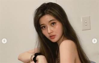 孫芸芸21歲正妹女兒肩帶滑落 挺出兇狠身材網驚:快穿好